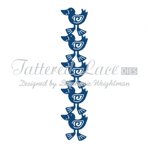 Tattered Lace Die Duck Border - D835